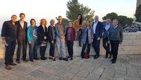 Der gemeinsame Fachausschuss bei seinem Treffen in Israel