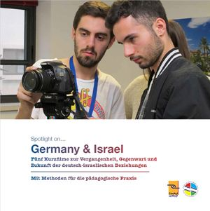 "Cover der Broschüre ""Spotlight on – Germany & Israel"""